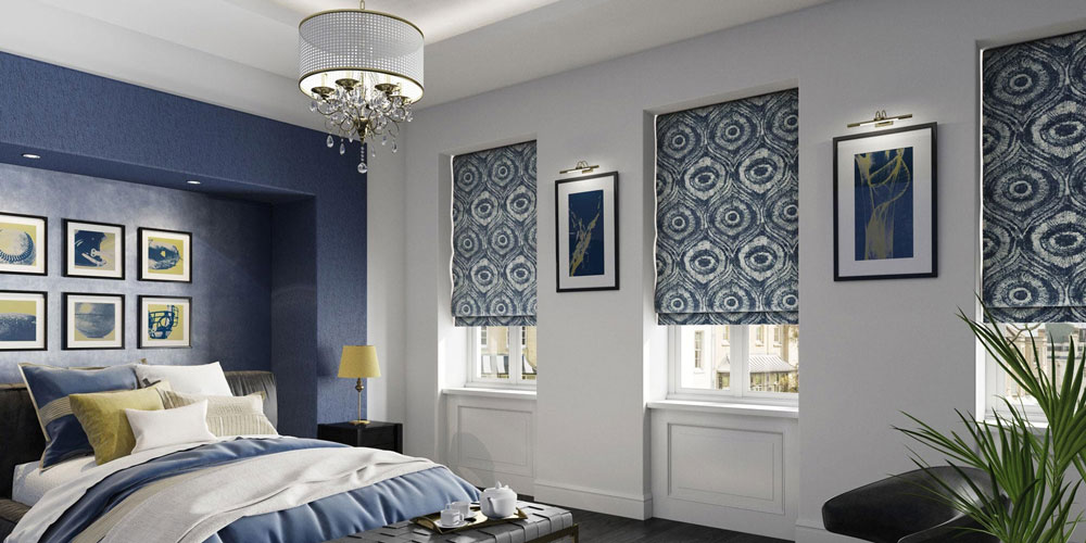 Our Roman Blinds