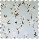 Aquarelle Mineral Flower Roman Blind